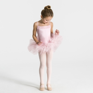 Capezio 11307C Ruffle Yoke Tutu Dress