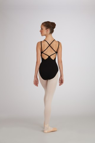 Capezio CC121 Lattice back camisole leotard